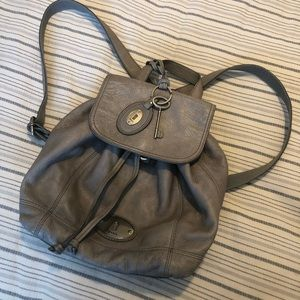 ❗️🥳HOST PICK💖Fossil Leather Backpack